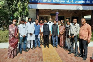 BJP amt. compaint against hindu community disrespect in rajapeth police station- pravin pote sir (1)