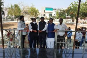 Dr. keshav colony amravati, mayor chetanji gawande bjp