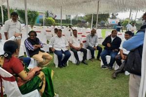 attended bird flu awareness program at amravti- pravin pote sir